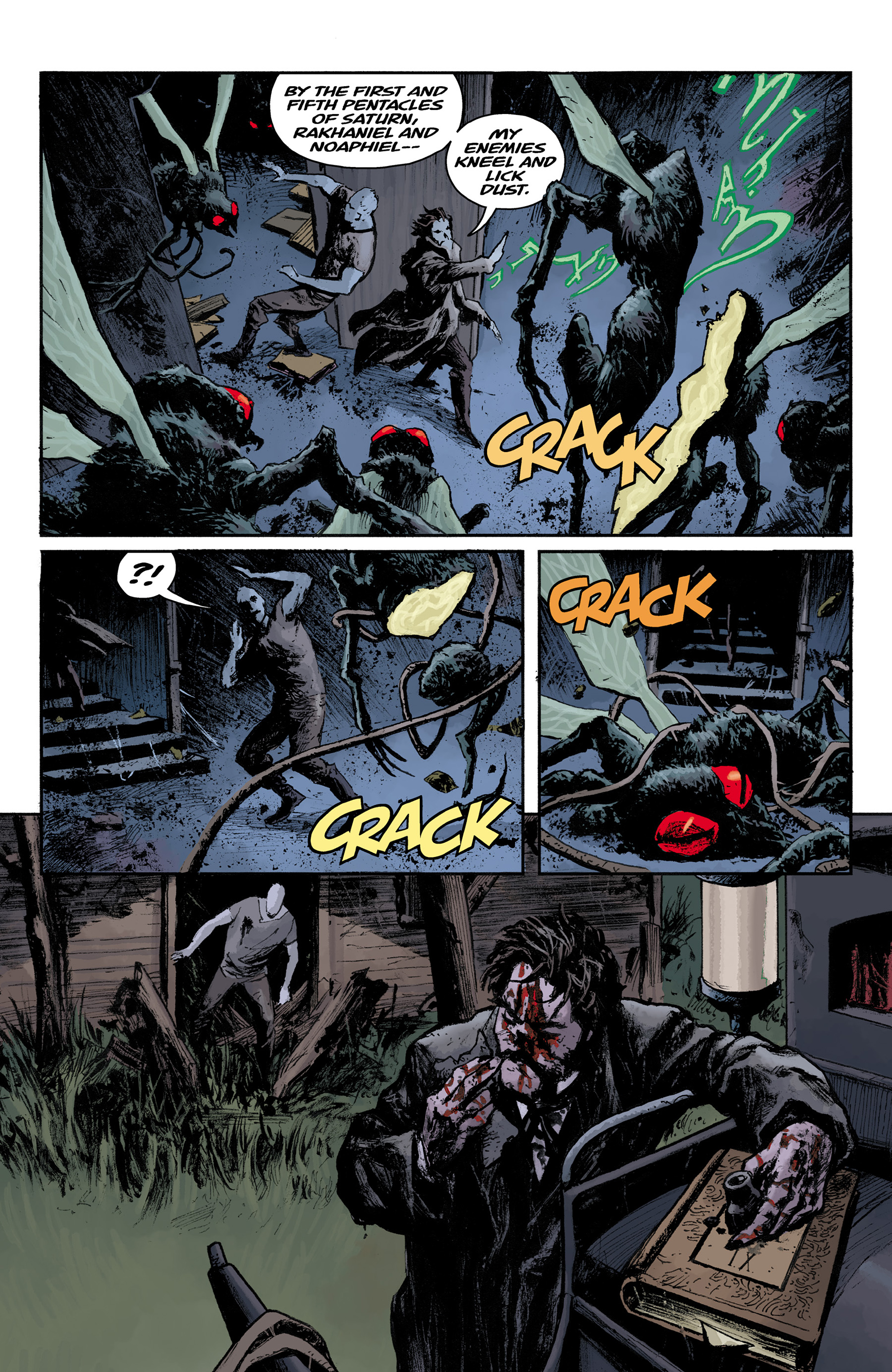 Read online Abe Sapien comic -  Issue #31 - 21