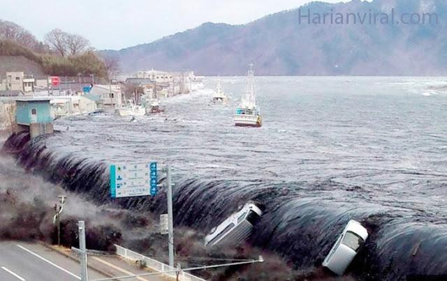 Gempa Jepang Berpotensi Tsunami