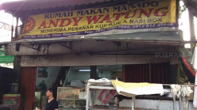 Rumah Makan Manado Dirusak oleh Kelompok Berpeci, FPI: Permainan Intelijen