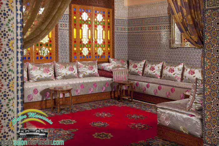 boutique salon marocain 2018 2019 salon. Black Bedroom Furniture Sets. Home Design Ideas