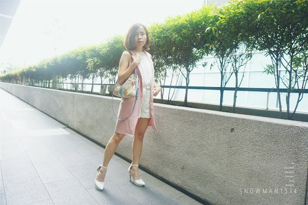 Rose Quartz Weekend Outfit #20 Pink + White