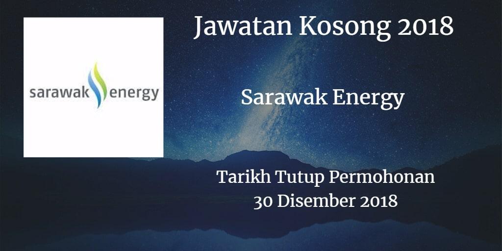 Jawatan Kosong Sarawak Energy 30 Disember 2018