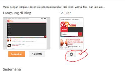 Cara Mengatur Ukuran blog sesuai Tampilan HP Smartphone