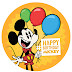 Happy Upcoming Birthday Mickey Mouse - The BIG 90
