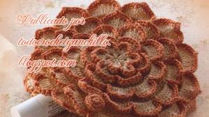 Porta cosméticos / monedero al crochet