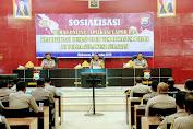 Luncurkan Pengaduan Online, Tim Itwasum Sosialisasi di Polda Sulsel