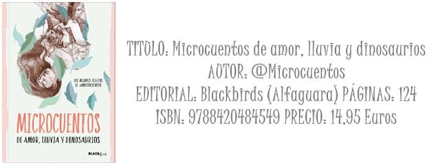 Micro Reseña: Microcuentos de amor, lluvia y dinosaurios
