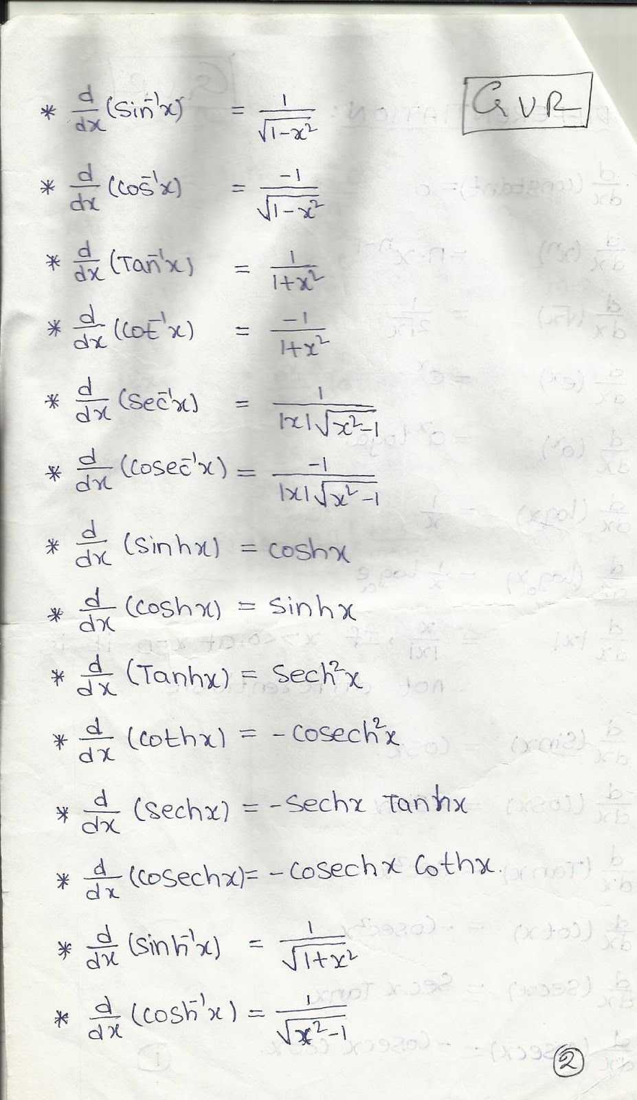 Differentiation integration and matrices