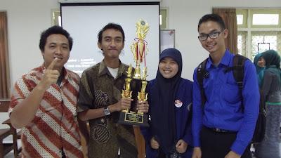 Juara Lomba Karya Tulis Mahasiswa