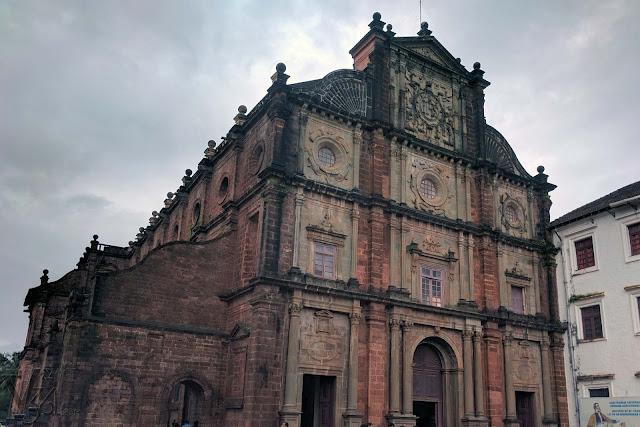 Basilica of Bom Jesus - UNESCO site, Velha Goa