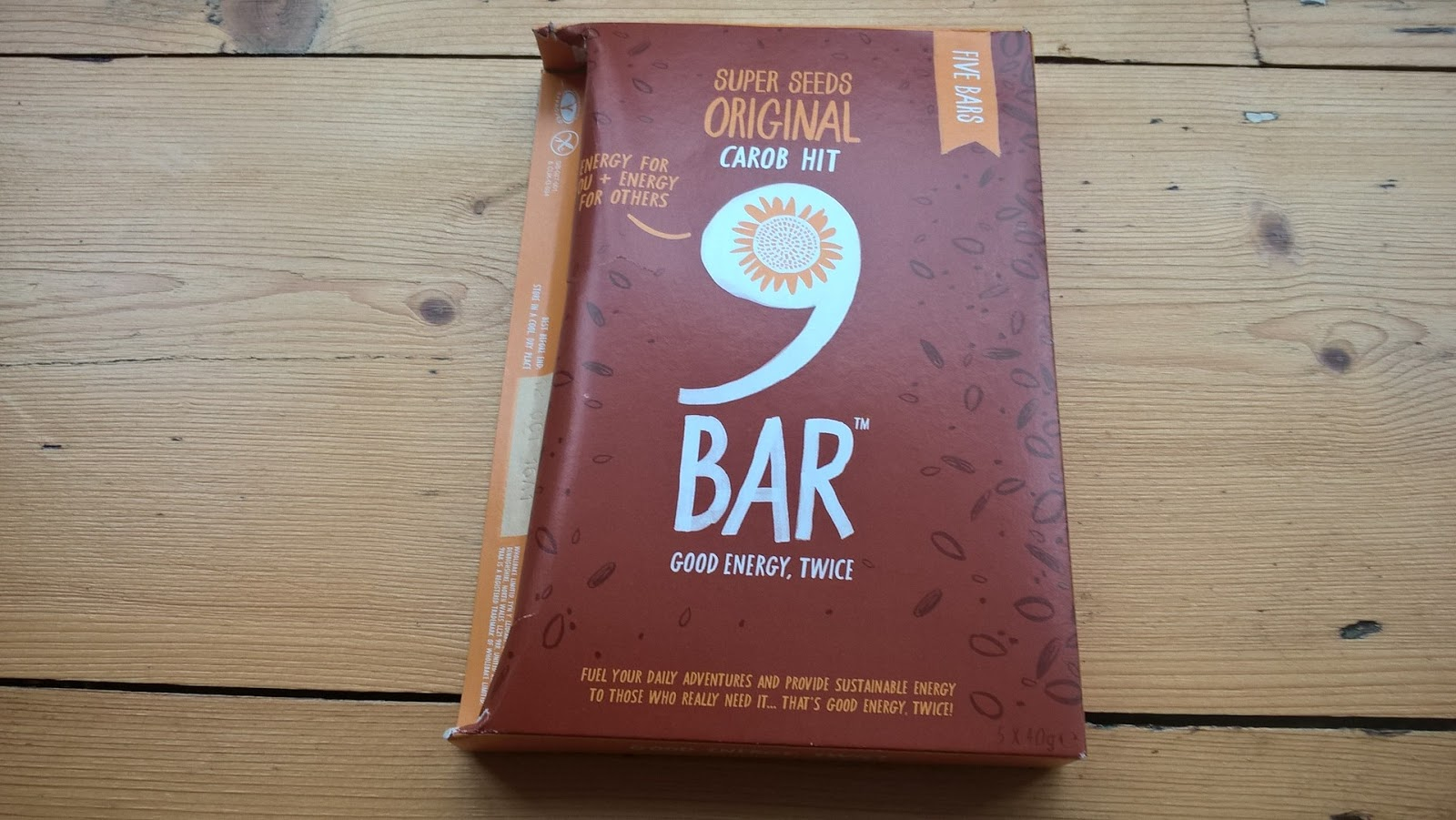 Box of 9 Bar Original Carob Bars