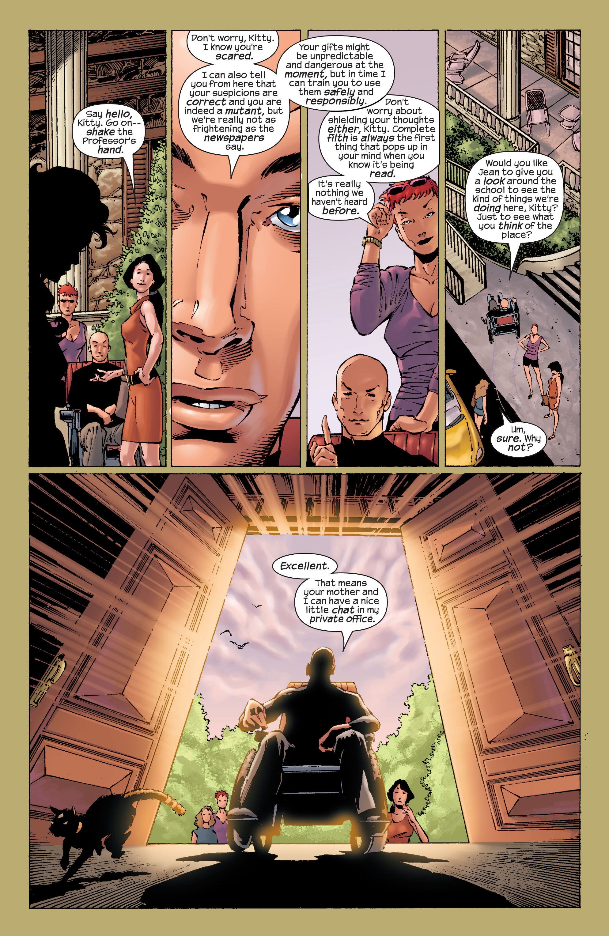 Read online Ultimate X-Men comic -  Issue #21 - 10