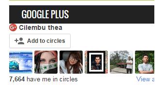 Kepada pengguna Google Plus