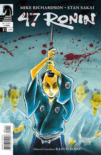47 Ronin #1 Writer: Mike Richardson Artist: Stan Sakai Colors: Lovern Kindzierski Letters: Tom Orzechowski, Lois Buhalis