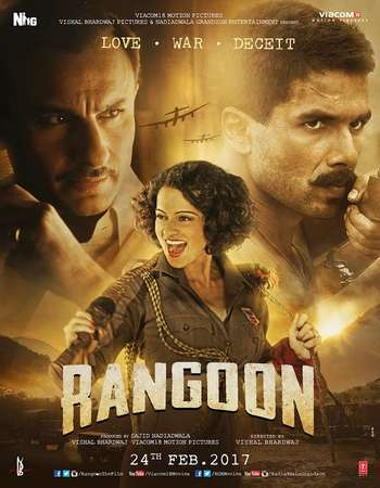 Poster Of Rangoon 2017 Hindi 700MB pDVD x264 Watch Online Free Download downloadhub.in