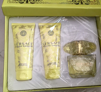 Bộ giftset nước hoa Versace Yellow Diamond Lớn - NH11