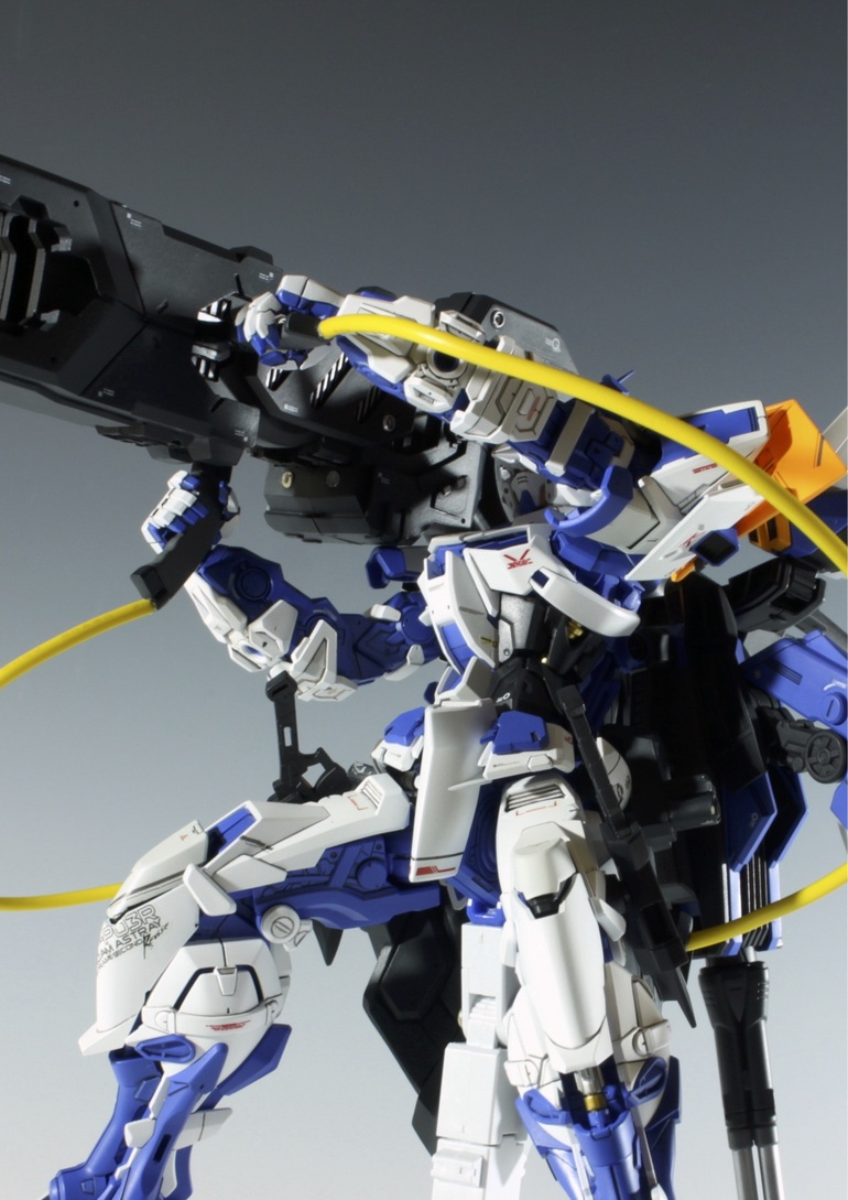 Custom Build: MG 1/100 Gundam Astray Blue Frame Second Revise LOHENGRIN