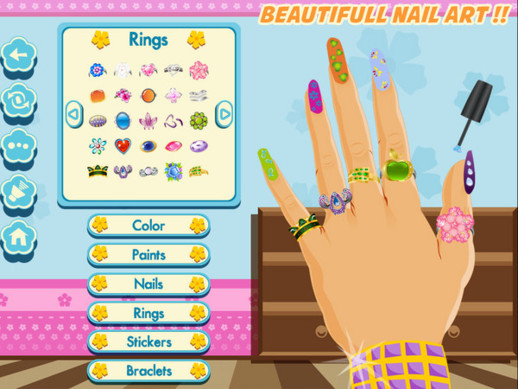 Download Latest Girl Nail Art iPhone Game Source Code | Download