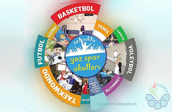 Konya Meram Yaz Spor Okulları 2016