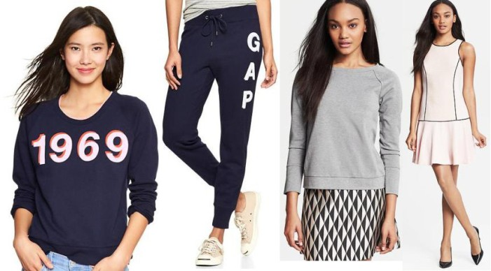 spring fashion, sportswear, sport fashion, gap, banana republic