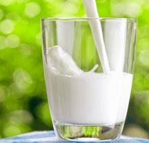 стаканчик молока
