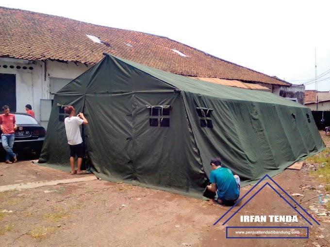 Penjual Tenda Bantuan