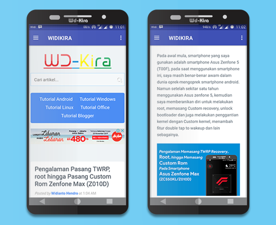 Wd-kira app aplikasi khusus untuk mencari tutorial pada android smartphone terbaru. lebih mudah mencari tutorial android dengan wd-kira app