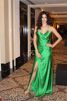 Disha Patani in Beautiful Green Gown at her App Launch 034.JPG