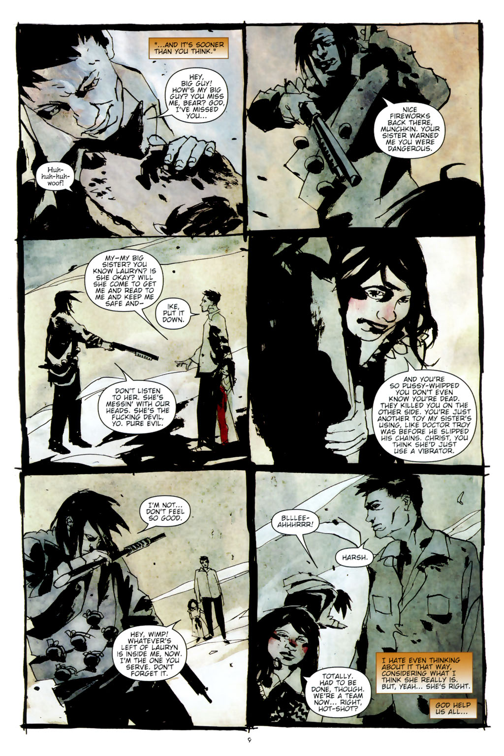 Read online Silent Hill: Dead/Alive comic -  Issue #3 - 11