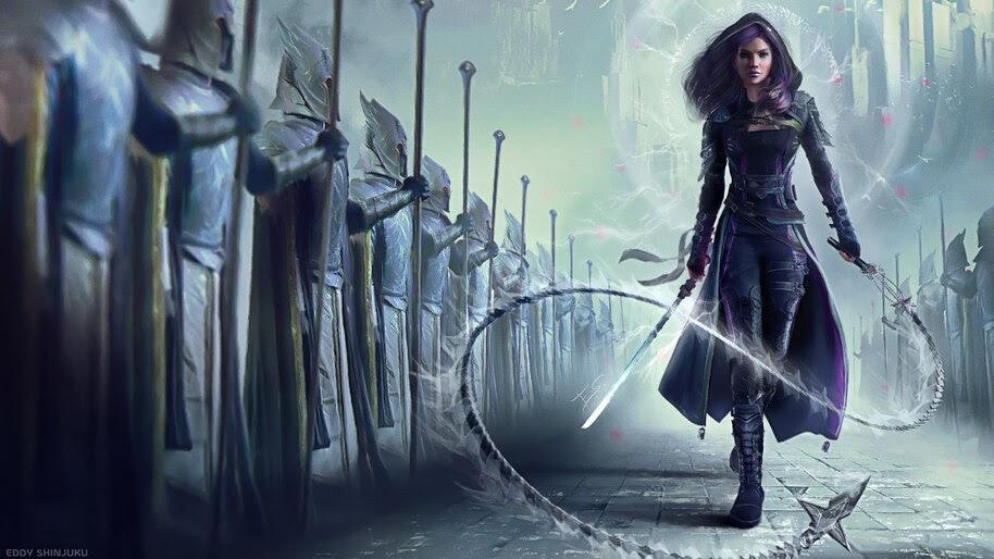 Warrior, Girl, Fantasy, 4K, #6.751