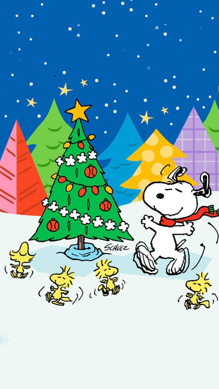 Iphone And Android Wallpapers Charlie Brown Christmas