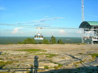 the skyride at stone mountain
