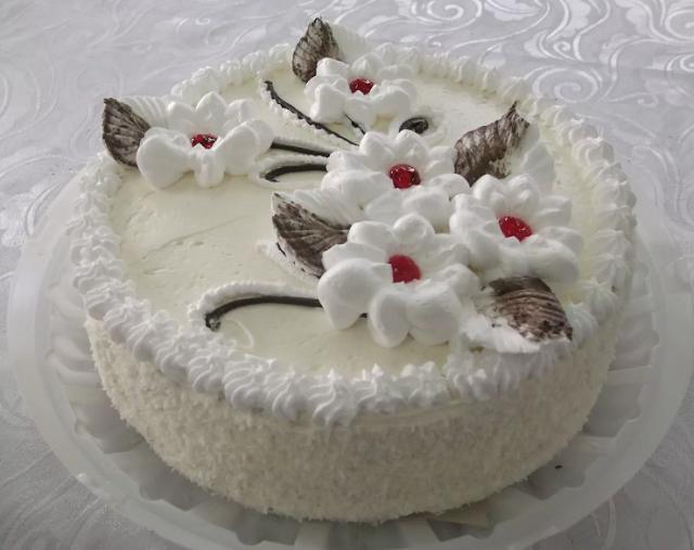 Как украсить торт белком