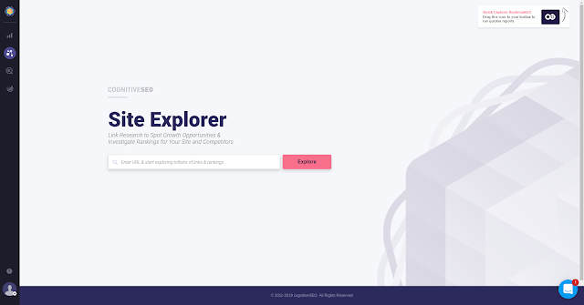 Site Explorer CognitiveSEO