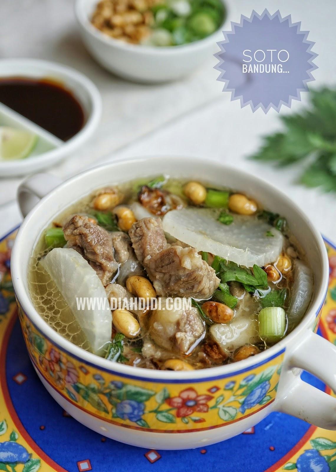 Resep Soto Bandung Daging Sapi : resep, bandung, daging, Didi's, Kitchen:, Bandung