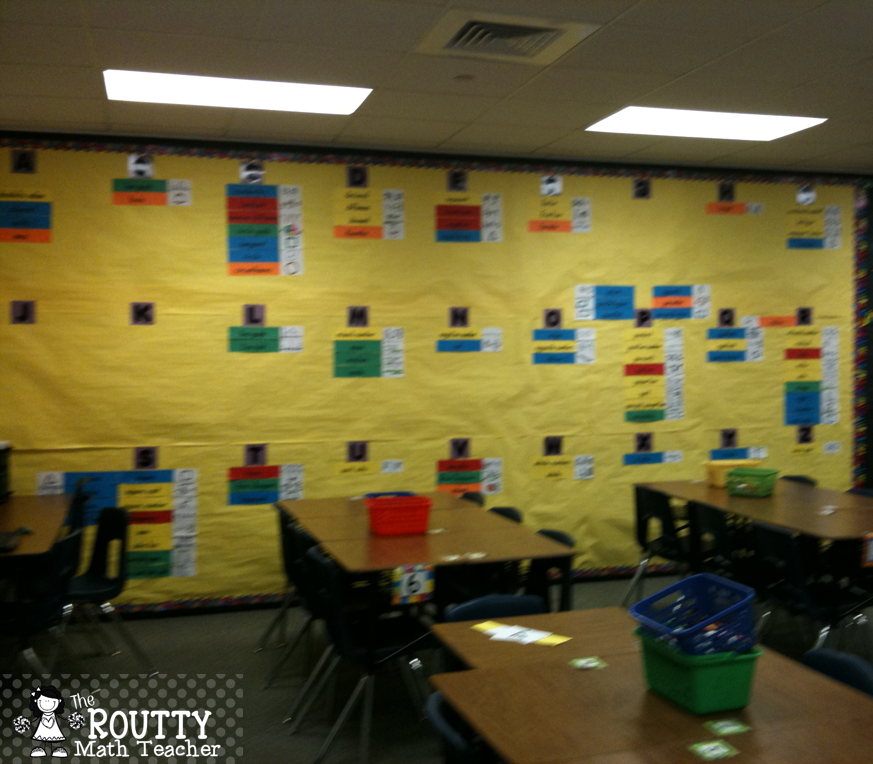 Kick Start Your School Year with Word Wall Activities