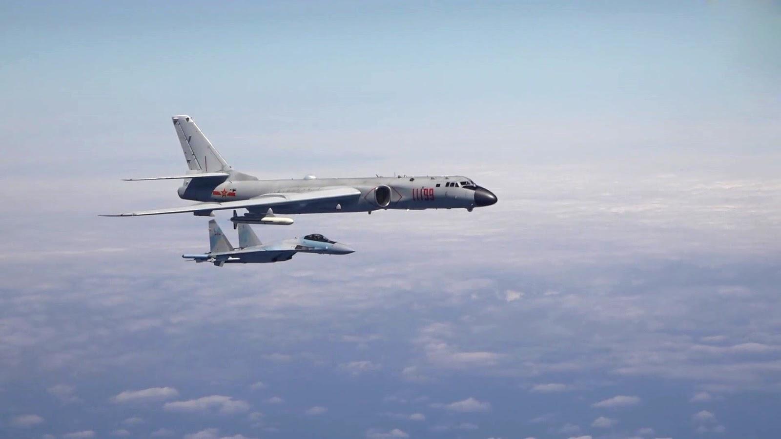 Боевая служба китайских дальних бомбардировщиков