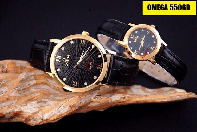 Đồng hồ dây da Omega 5506D