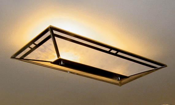 Model Lampu Plafon Tempel Ruang Tamu Minimalis