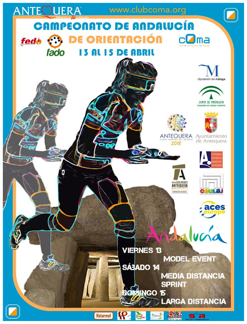 Campeonato de Andalucía de Orientación en Antequera