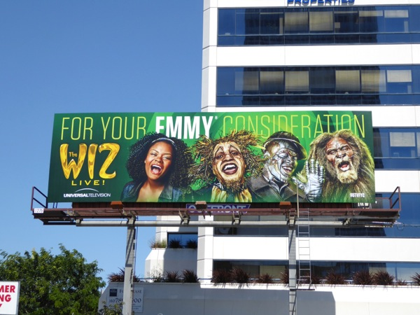Wiz Live Emmy billboard