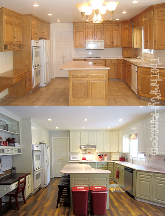 kitchen cabinet painting contractors wooden playsets *the thrifty home: remodel - cabinets