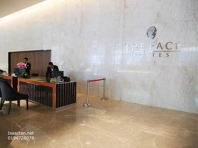 The FACE Suites & Hotel is on the lower floors of Platinum Suites