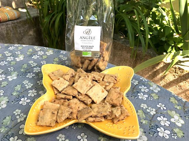 Biscuits aux herbes de Provence
