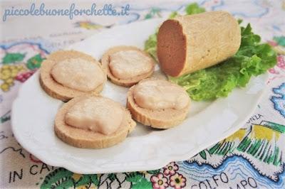 foto Ricetta salame di tonno con crema di fagioli cannellini per bambini