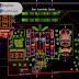 مخطط مشروع مدرسة بتصميم مميز 2 اوتوكاد dwg