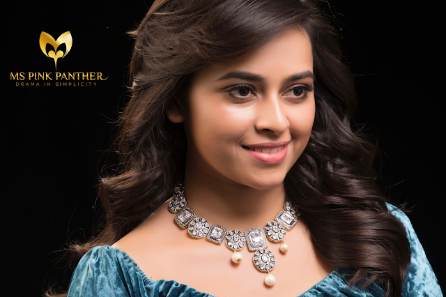 Sri Divya Pic For Ms Pink Panther Jewellery Ad