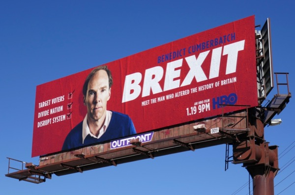 Brexit HBO movie billboard