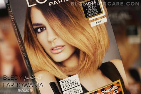 Najczęstsze błędy podczas farbowania włosów w domu - czytaj dalej »