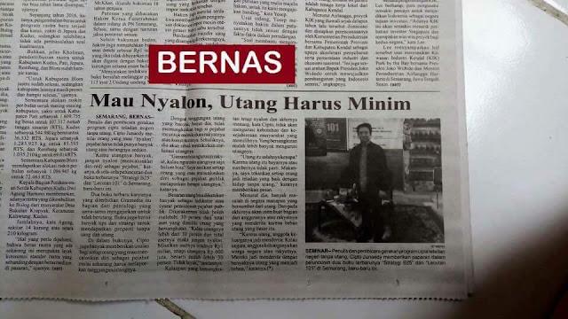 Liputan Koran Bernas Semarang